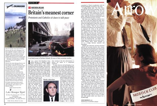 Article Preview: Britain's meanest corner, May 1991   Maclean's