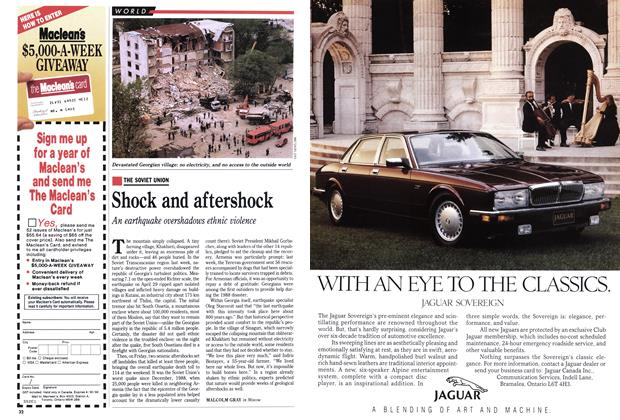 Article Preview: Shock and aftershock, May 1991 | Maclean's