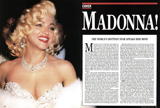 Article Preview: MADONNA!, May 1991 | Maclean's