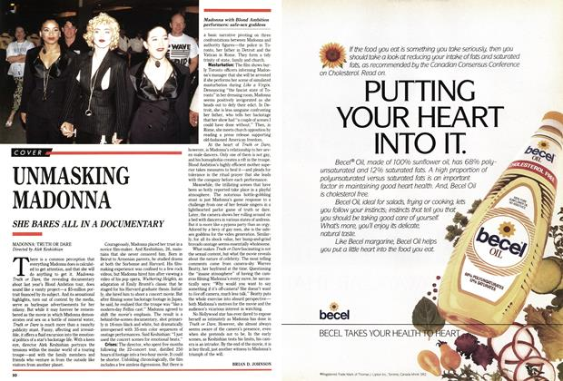 Article Preview: UNMASKING MADONNA, May 1991 | Maclean's