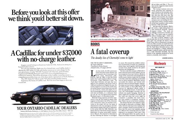 Article Preview: A fatal coverup, May 1991 | Maclean's