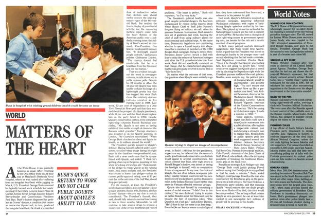 Article Preview: MATTERS OF THE HEART, May 1991 | Maclean's