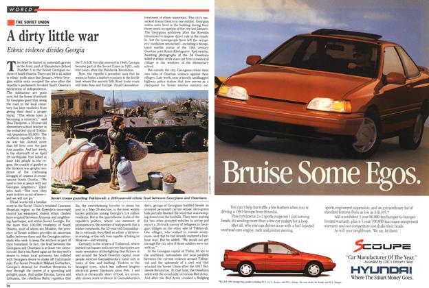 Article Preview: A dirty little war, May 1991 | Maclean's