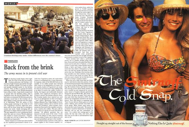 Article Preview: Back from the brink, May 1991 | Maclean's