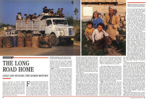 Article Preview: THE LONG ROAD HOME, May 1991 | Maclean's