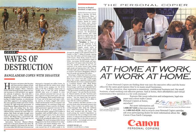 Article Preview: WAVES OF DESTRUCTION, May 1991 | Maclean's