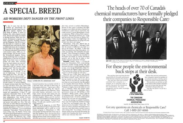 Article Preview: A SPECIAL BREED, May 1991 | Maclean's