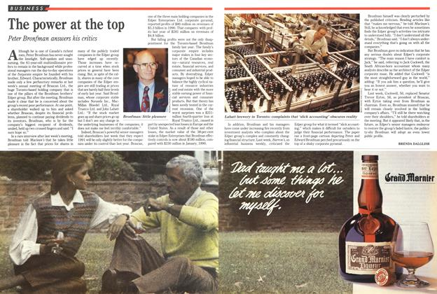 Article Preview: The power at the top, May 1991 | Maclean's