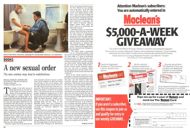 Article Preview: A new sexual order, May 1991 | Maclean's