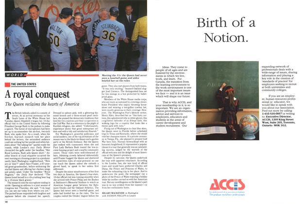 Article Preview: A royal conquest, May 1991 | Maclean's