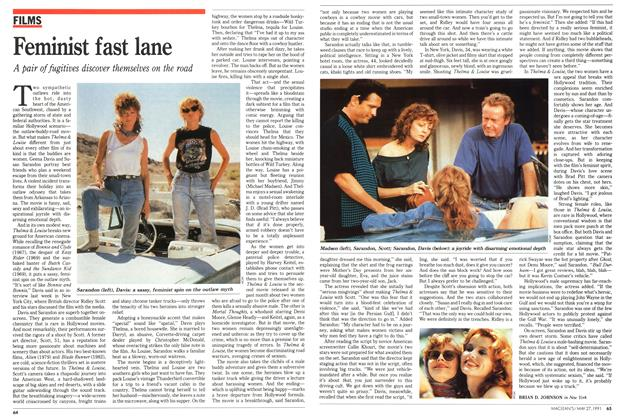 Article Preview: Feminist fast lane, May 1991 | Maclean's