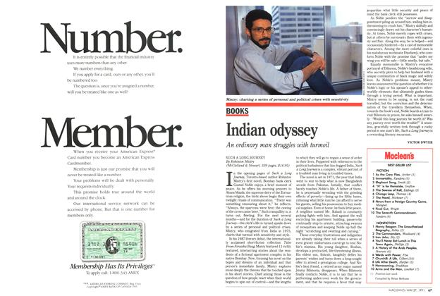 Article Preview: Indian odyssey, May 1991 | Maclean's