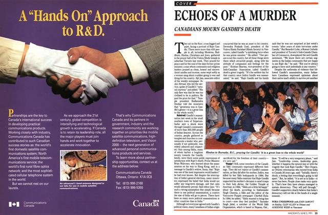 Article Preview: ECHOES OF A MURDER, June 1991 | Maclean's