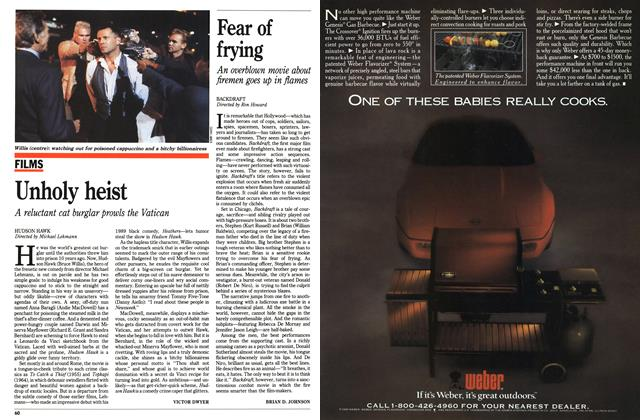 Article Preview: Unholy heist, June 1991 | Maclean's