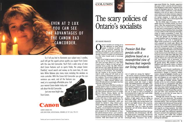 Article Preview: The scary policies of Ontario's socialists, June 1991 | Maclean's