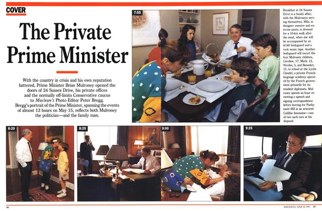 Article Preview: The Private Prime Minister, June 1991 | Maclean's