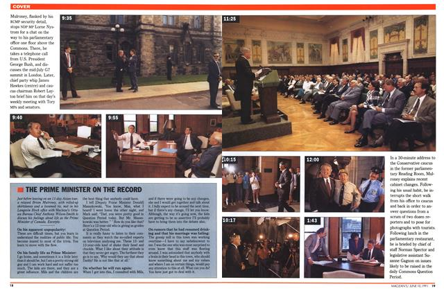 Article Preview: THE PRIME MINISTER ON THE RECORD, June 1991 | Maclean's