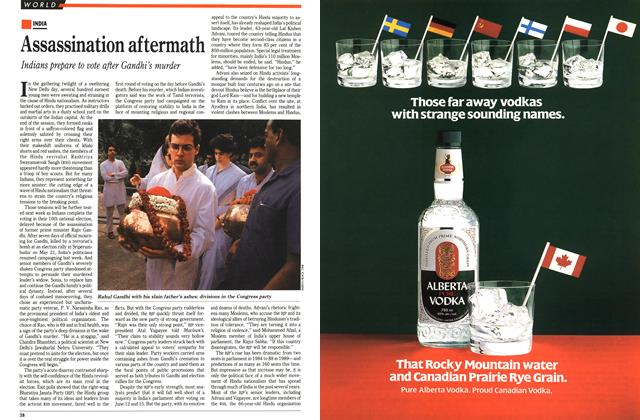 Article Preview: Assassination aftermath, June 1991 | Maclean's