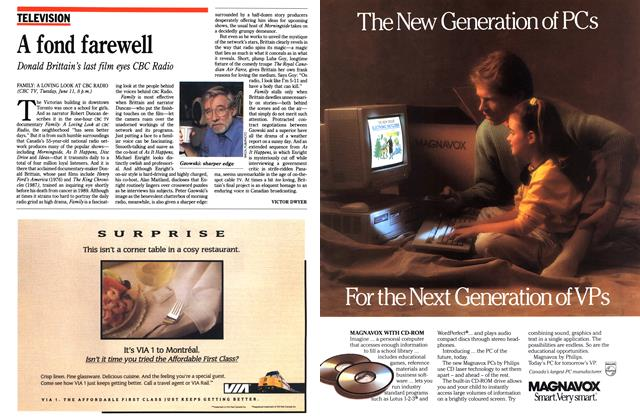 Article Preview: A fond farewell, June 1991 | Maclean's