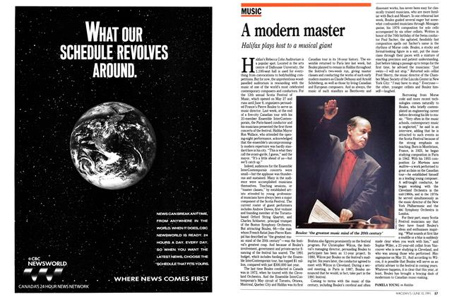 Article Preview: A modern master, June 1991 | Maclean's