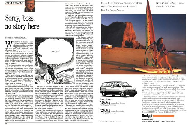 Article Preview: Sorry, boss, no story here, June 1991   Maclean's