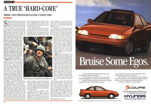 Article Preview: A TRUE 'HARD-CORE', June 1991 | Maclean's