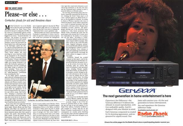 Article Preview: Please-or else . . ., June 1991 | Maclean's