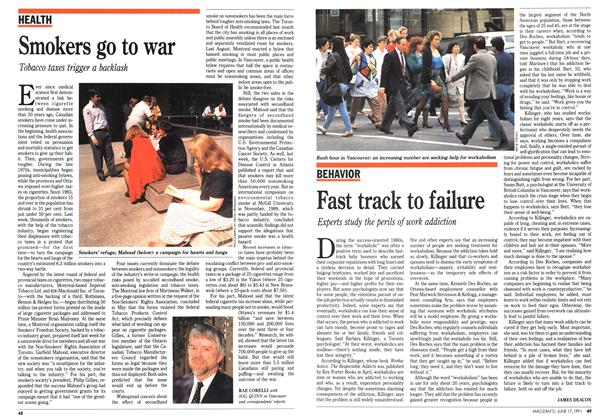 Article Preview: Fast track to failure, June 1991 | Maclean's