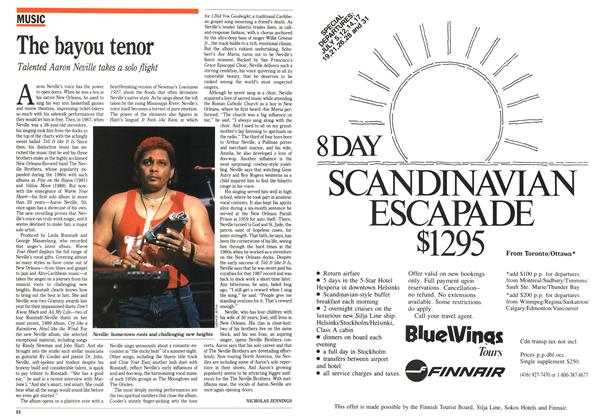 Article Preview: The bayou tenor, June 1991 | Maclean's