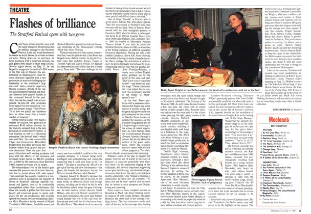 Article Preview: Flashes of brilliance, June 1991 | Maclean's