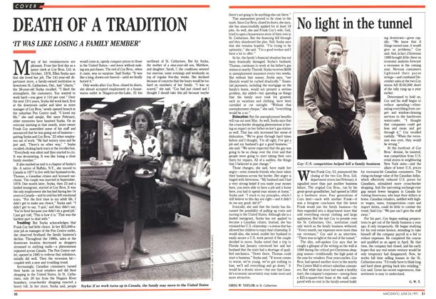 Article Preview: DEATH OF A TRADITION, June 1991 | Maclean's