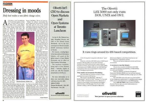 Article Preview: Dressing in moods, July 1991 | Maclean's