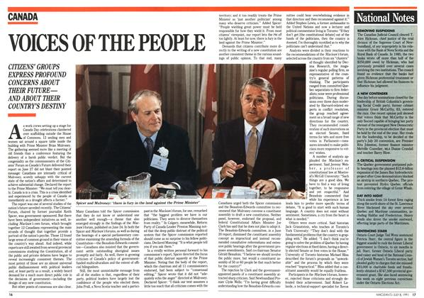 Article Preview: VOICES OF THE PEOPLE, July 1991 | Maclean's