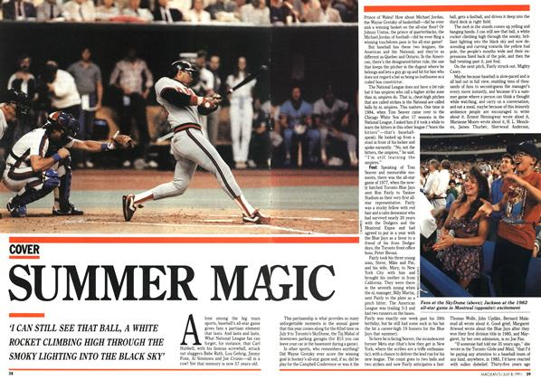 Article Preview: SUMMER MAGIC, July 1991 | Maclean's