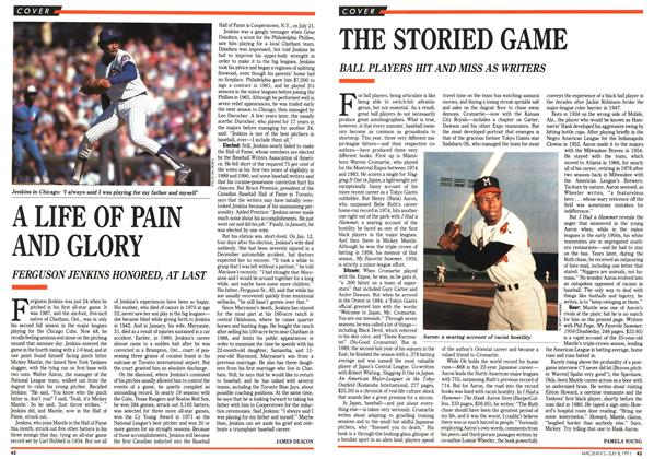 Article Preview: A LIFE OF PAIN AND GLORY, July 1991 | Maclean's