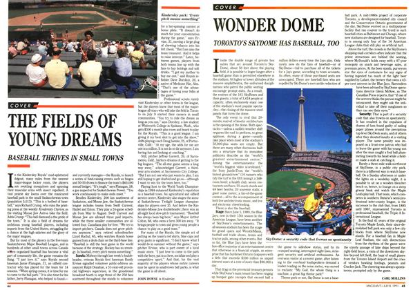 Article Preview: THE FIELDS OF YOUNG DREAMS, July 1991 | Maclean's