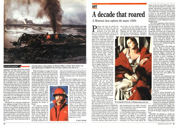 Article Preview: A decade that roared, July 1991 | Maclean's