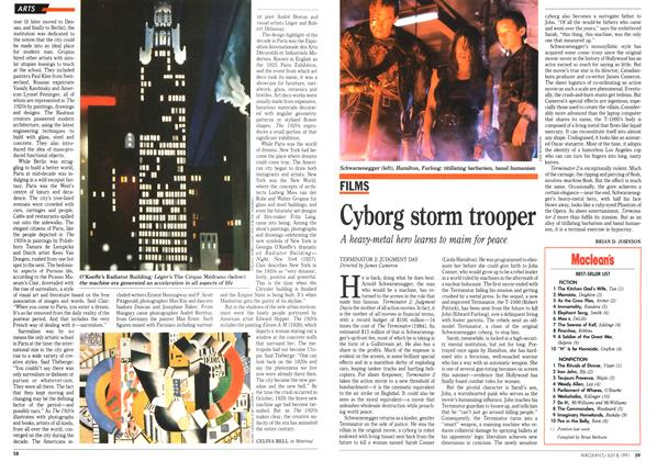 Article Preview: Cyborg storm trooper, July 1991 | Maclean's