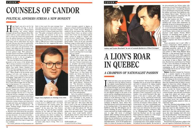 Article Preview: COUNSELS OF CANDOR, July 1991 | Maclean's