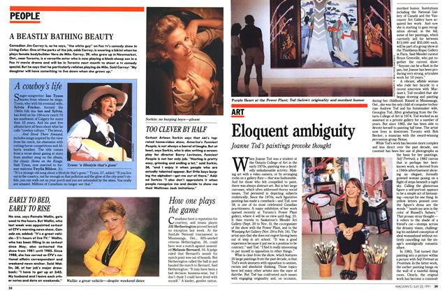 Article Preview: Eloquent ambiguity, July 1991 | Maclean's