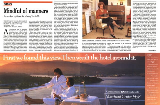 Article Preview: Mindful of manners, July 1991 | Maclean's