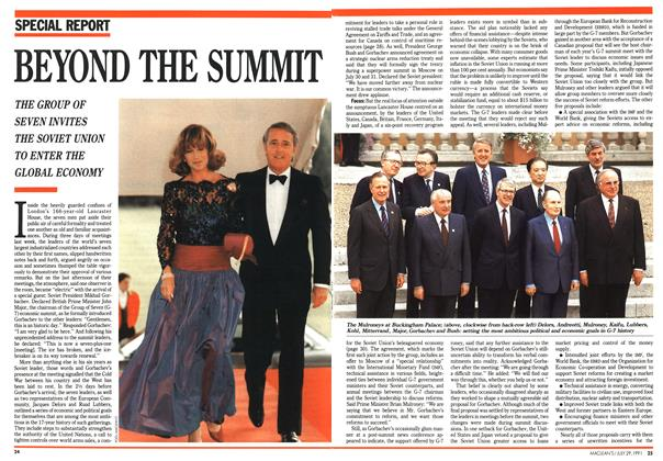 Article Preview: BEYOND THE SUMMIT, July 1991 | Maclean's