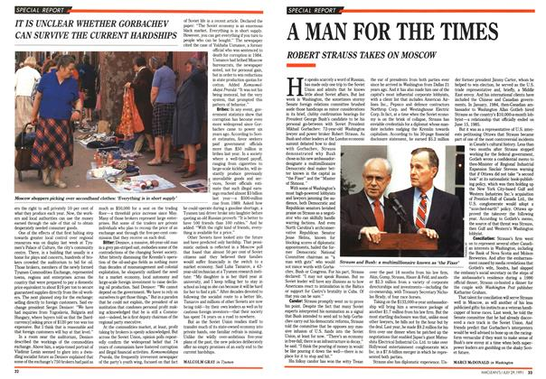 Article Preview: A MAN FOR THE TIMES, July 1991 | Maclean's