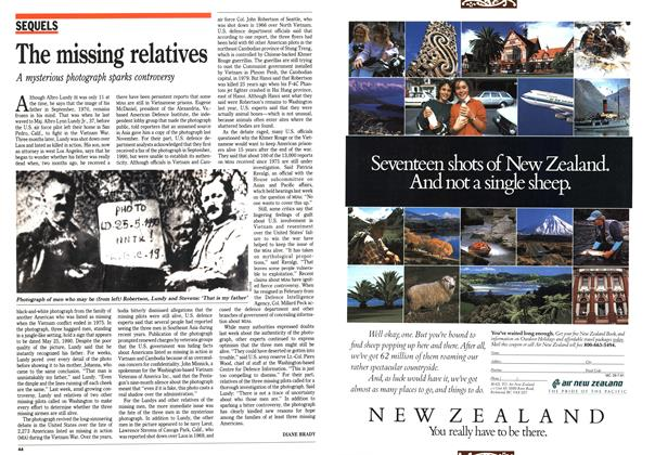 Article Preview: The missing relatives, July 1991 | Maclean's