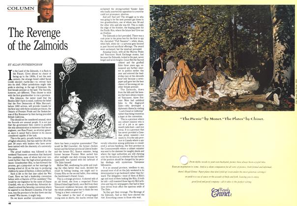 Article Preview: The Revenge of the Zalmoids, July 1991 | Maclean's