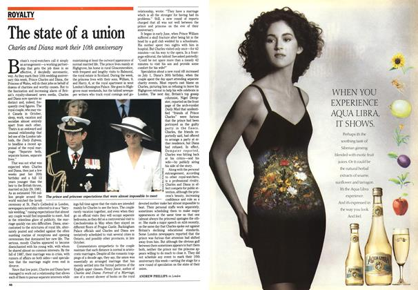 Article Preview: The state of a union, August 1991 | Maclean's