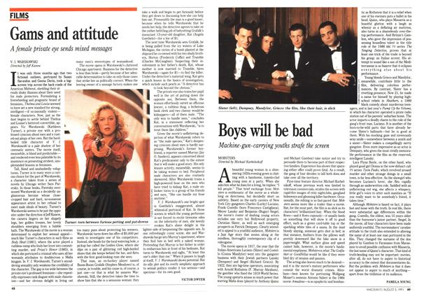 Article Preview: Gams and attitude, August 1991 | Maclean's