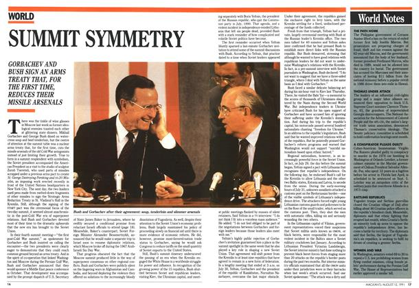 Article Preview: SUMMIT SYMMETRY, August 1991 | Maclean's