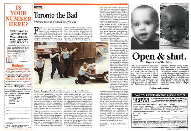 Article Preview: Toronto the Bad, August 1991 | Maclean's