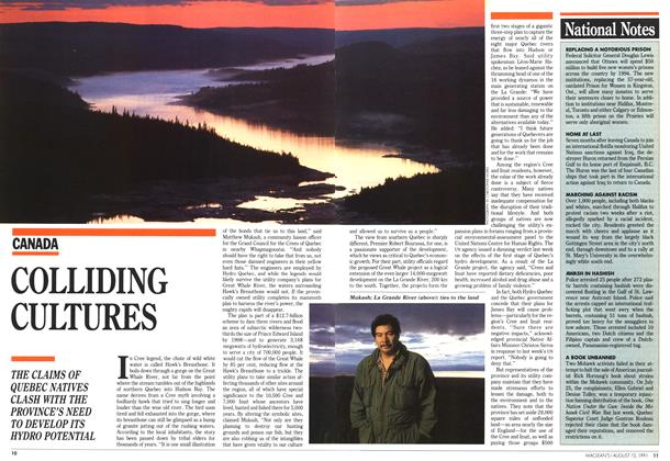 Article Preview: COLLIDING CULTURES, August 1991 | Maclean's